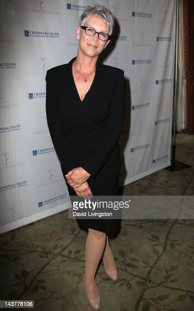 Actress and event honoree Jamie Lee Curtis attends the 5th Annual Women of Distinction Luncheon at the Beverly Hills Hotel on May 3 2012 in Beverly...