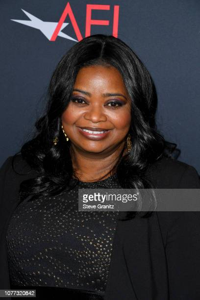 Actress and Executiev Producer of Green Book Octavia Spencer attends the 19th Annual AFI Awards at Four Seasons Hotel Los Angeles at Beverly Hills on...