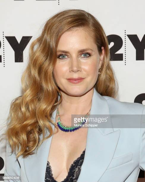 Actress and executive producer Amy Adams attends HBO's 'Sharp Objects' New York Screening And Conversation at 92nd Street Y on June 28 2018 in New...
