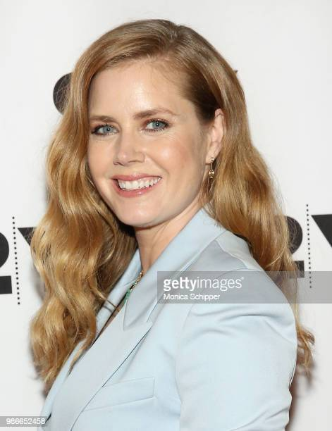 Actress and executive producer Amy Adams attends HBO's Sharp Objects New York Screening And Conversation at 92nd Street Y on June 28 2018 in New York...