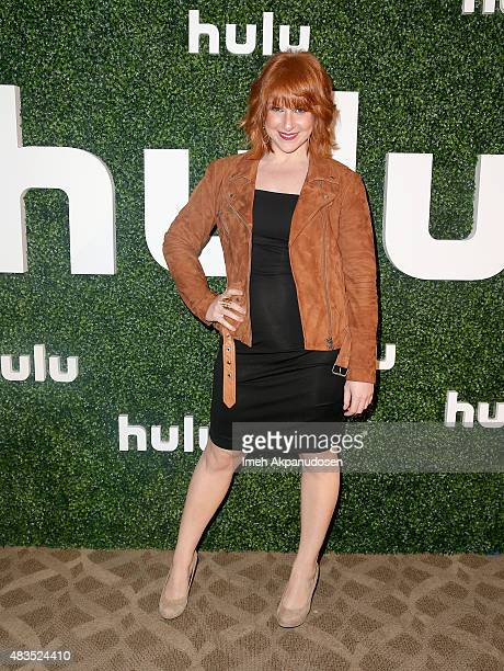 Actress and Executive Producer Julie Klausner attends the Hulu 2015 Summer TCA Presentation at The Beverly Hilton Hotel on August 9 2015 in Beverly...