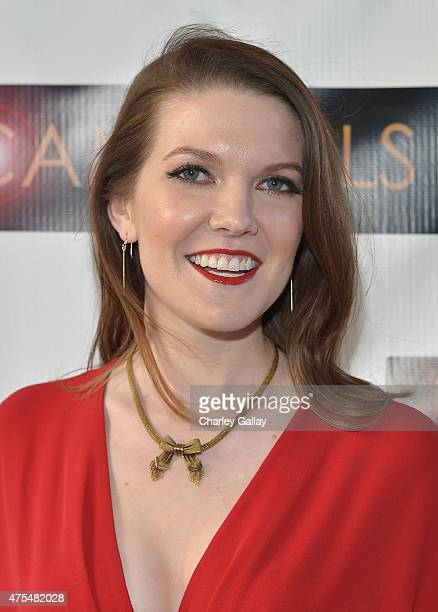 Actress and executive producer Kate Bond attends the screening party for the new original web series CAM GIRLS at United Talent Agency on May 31 2015...