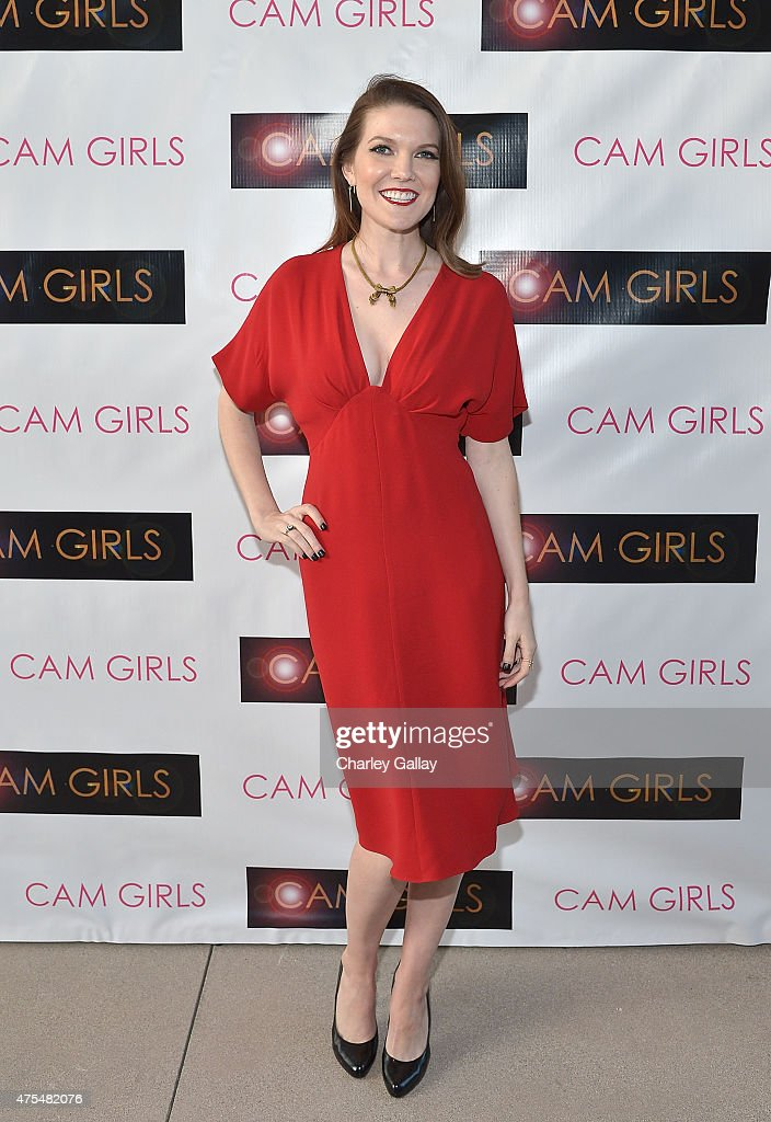 Actress and executive producer Kate Bond attends the screening party for the new original web series, 'CAM GIRLS' at United Talent Agency on May 31, 2015 in Beverly Hills, California.