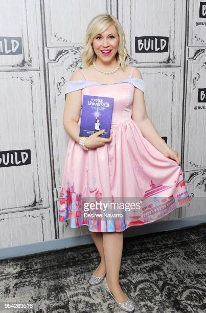 Actress and fashion designer Ashley Eckstein attends Build Series to discuss Her Universe 'It's Your Universe' at Build Studio on May 3 2018 in New...