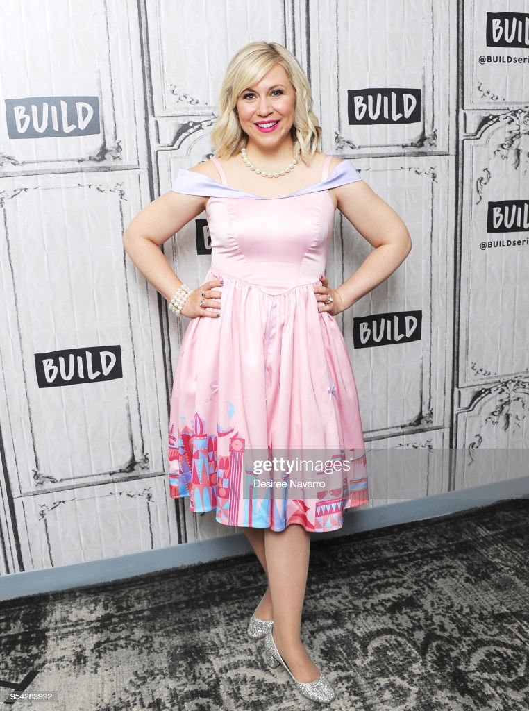 Actress and fashion designer Ashley Eckstein attends Build Series to discuss Her Universe and 'It's Your Universe' at Build Studio on May 3, 2018 in New York City.