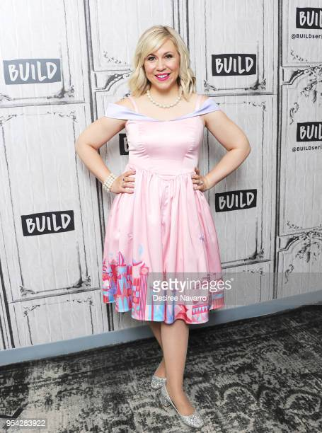 Actress and fashion designer Ashley Eckstein attends Build Series to discuss Her Universe and 'It's Your Universe' at Build Studio on May 3 2018 in...