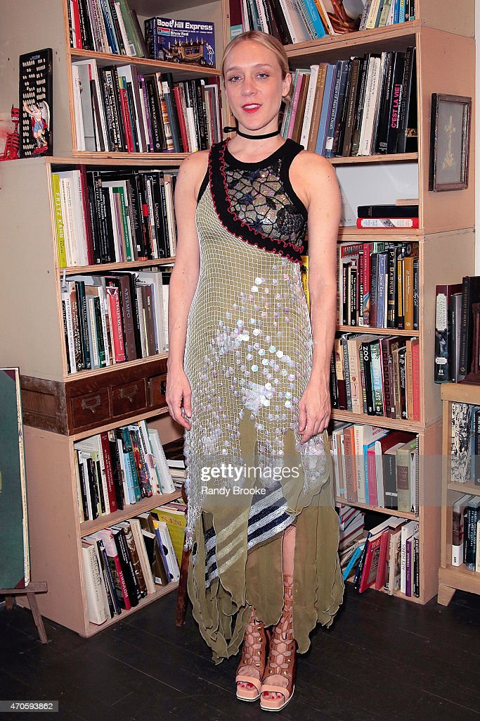 Actress and fashion designer Chloe Sevigny attends the 2015 Morbid Anatomy Museum gala on April 21, 2015 in the Brooklyn borough of New York City.