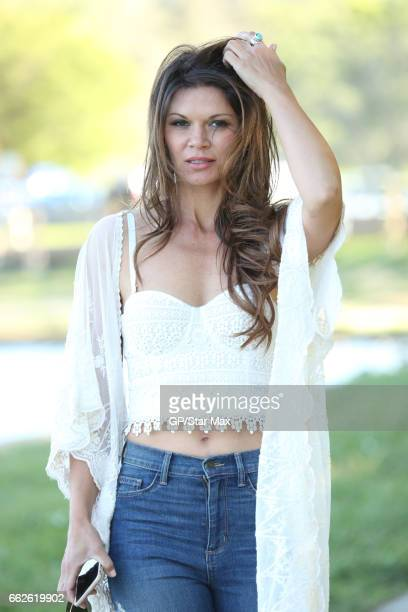 Actress and fashion model Danielle Vasinova is seen on March 31 2017 in Los Angeles California