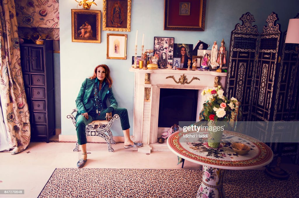 Marisa Berenson, Luxx magazine UK, September 9, 2017