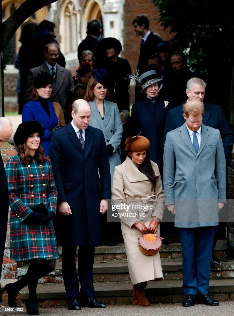 BRITAIN-ROYALS-CHRISTMAS : Foto di attualità