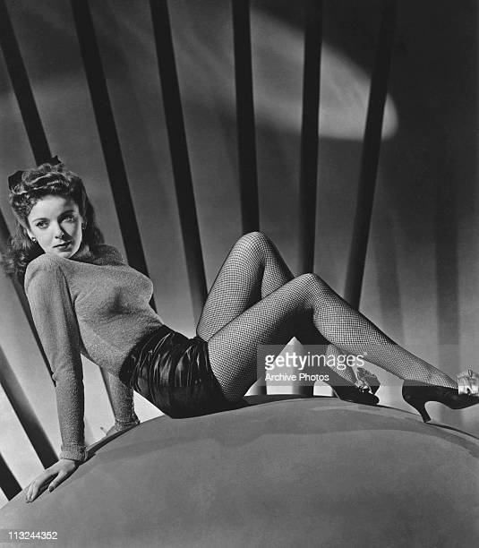 Actress and film director Ida Lupino posing in the 1940's