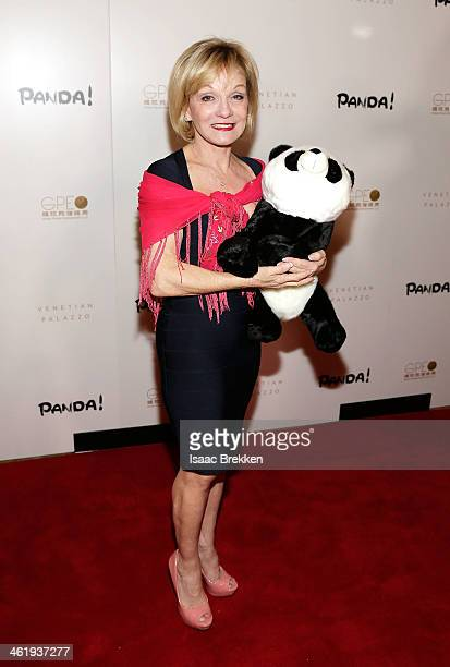Actress and former gymnast Cathy Rigby arrives at the world premiere of PANDA on January 11 2014 in Las Vegas Nevada
