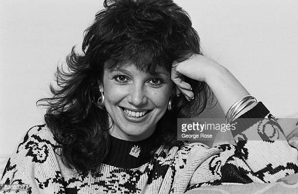 Actress and former Miss Los Angeles and Miss California Melissa Prophet poses during a 1988 Los Angeles California photo portrait session