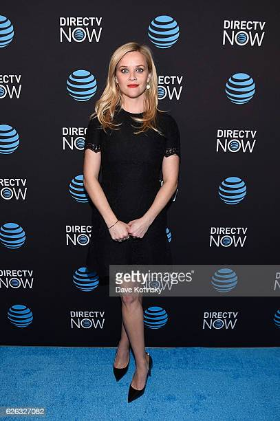Actress and Founder of Hello Sunshine Reese Witherspoon attends ATT's celebration of the Launch of DIRECTV NOW at Venue 57 on November 28 2016 in New...
