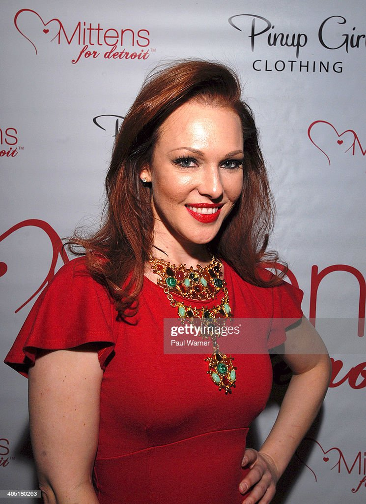 Actress and founder of Mittens for Detroit Erin Cummings attends Mittens for Detroit's 4th Annual Night of Giggles and Gloves at MGM Grand Hotel on January 25, 2014 in Detroit, Michigan.