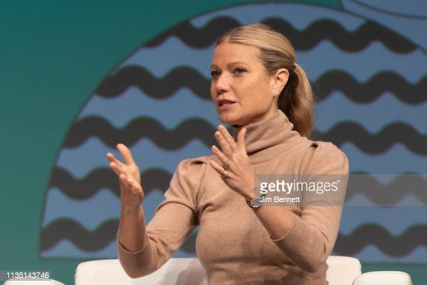 Actress and Goop founder Gwyneth Paltrow is interviewed live on stage during the 2019 SXSW Conference and Festival at the Austin Convention Center on...