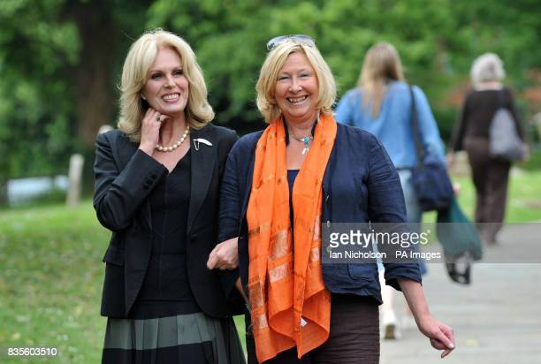 Actress and Gurkha Justice campaigner Joanna Lumley meets Annie Watsham the lady who first suggested that Ms Lumley get involved in the campaign at...