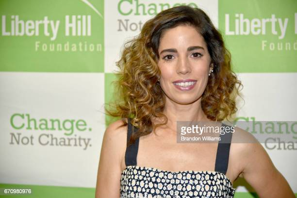Actress and honoree Ana Ortiz attends the Upton Sinclair Awards at The Beverly Hilton Hotel on April 20 2017 in Beverly Hills