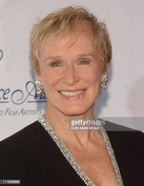 Actress and Honoree Glenn Close attends the 2008 Princess Grace awards gala at Cipriani 42nd Street on October 15 2008 in New York City