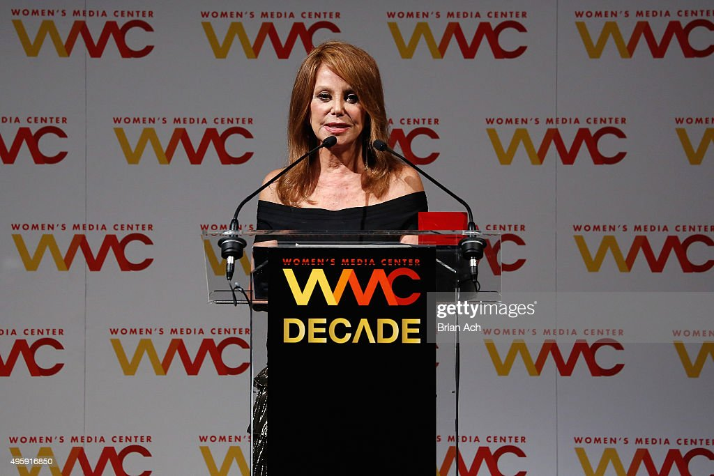 Actress and honoree Marlo Thomas speaks onstage during The Women's Media Center 2015 Women's Media Awards on November 5, 2015 in New York City.