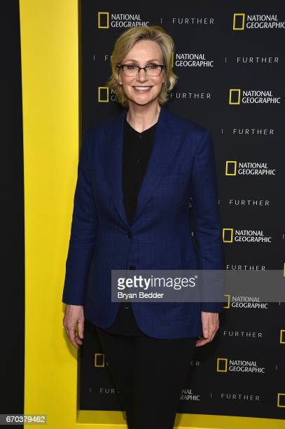 Actress and host Jane Lynch at National Geographic's Further Front Event at Jazz at Lincoln Center on April 19 2017 in New York City