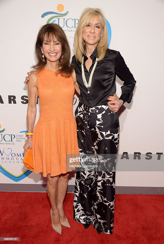 Actress and host Susan Lucci (L) and actress and honoree Judith Light attend the 13th annual Women Who Care event benefiting United Cerebral Palsy of New York City at Cipriani 42nd Street on May 7, 2014 in New York City.