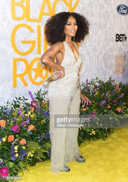 Actress and Icon Award recipient Angela Bassett attends 2019 Black Girls Rock at NJ Performing Arts Center on August 25 2019 in Newark New Jersey