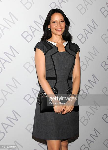 Actress and Ignite Campaign CoChair Lucy Liu attends the 2014 Ignite Gala benefiting BAM Education at BAM Howard Gilman Opera House on June 30 2014...