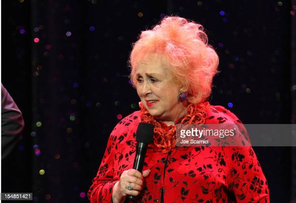 Actress and IMF Honorary Committee member Doris Roberts performs onstage at the International Myeloma Foundation's 6th Annual Comedy Celebration...