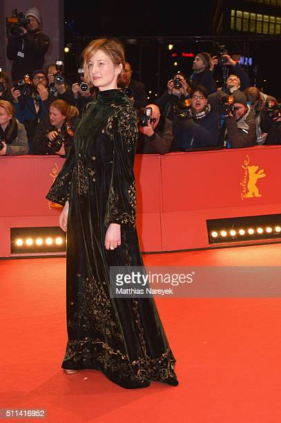 Actress and jury member Alba Rohrwacher attends the closing ceremony of the 66th Berlinale International Film Festival on February 20 2016 in Berlin...