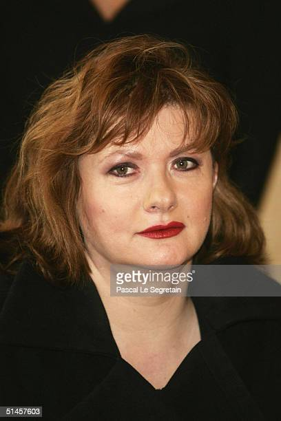 Actress and Jury member Catherine Jacob attends a photocall on the third day of the 15th Dinard Festival Of British Film on October 9 2004 in Dinard...