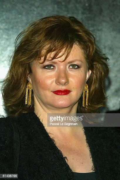 Actress and jury member Catherine Jacob attends the opening ceremony of the 15th Dinard Festival Of British Film October 7 2004 in Dinard France The...