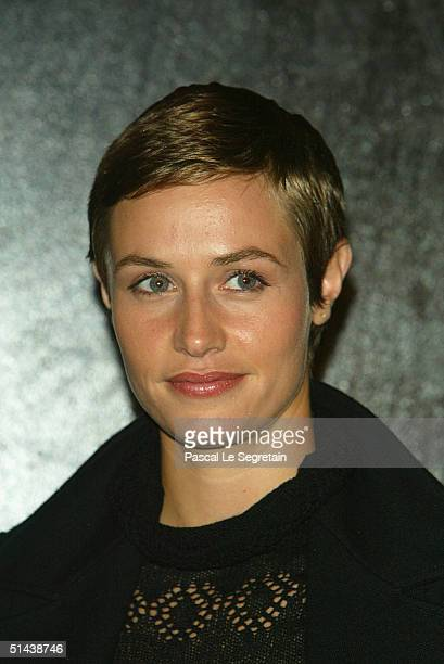 Actress and jury member Cecile De France attends the opening ceremony of the 15th Dinard Festival Of British Film October 7 2004 in Dinard France The...