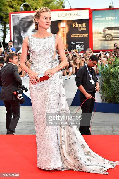 Actress and jury member Diane Kruger attends the opening ceremony and premiere of 'Everest' during the 72nd Venice Film Festival on September 2 2015...