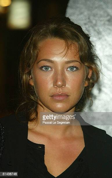 Actress and jury member Laura Smet attends the opening ceremony of the 15th Dinard Festival Of British Film October 7 2004 in Dinard France The event...