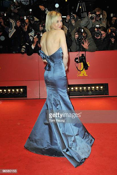 Actress and jury member Rene Zellweger arrives to the 'Tuan Yuan' Premiere during day one of the 60th Berlin International Film Festival at the...