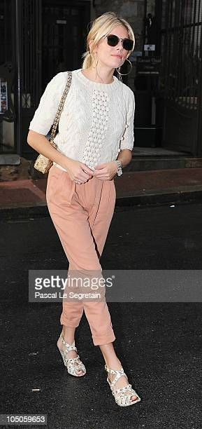 Actress and Jury member Sienna Miller arrives to attend the screening of the Bernard Rose film 'Mr Nice' during the 21st British Film Festival on...