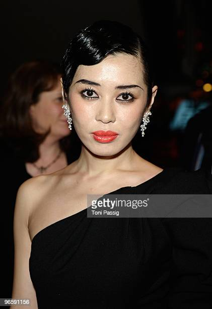 Actress and jury member Yu Nan attends the 'Tuan Yuan' Premiere during day one of the 60th Berlin International Film Festival at the Berlinale Palast...