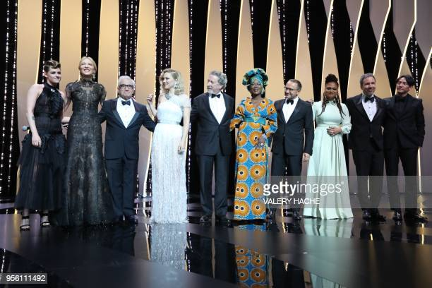 US actress and member of the Feature Film Jury Kristen Stewart Australian actress and President of the Jury Cate Blanchett US dirsctor Martn Scorsese...