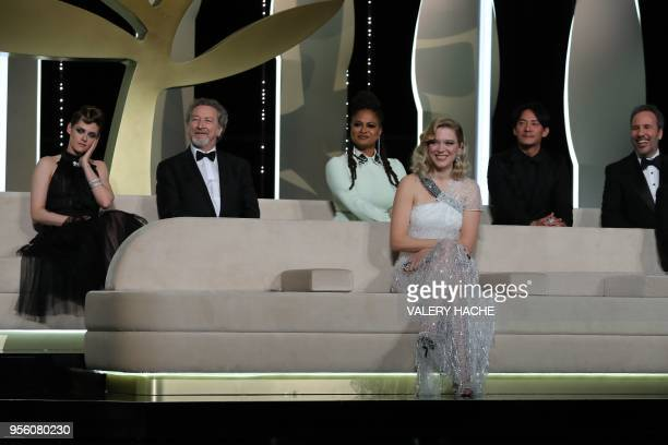 US actress and member of the Feature Film Jury Kristen Stewart French director and member of the Feature Film Jury Robert Guediguian US director and...