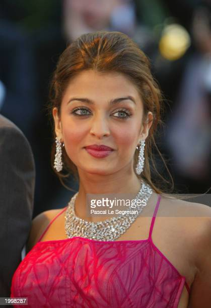 Actress and member of the Jury Aishwarya Rai arrives for the opening ceremony of the International Cannes Film Festival at the Palais des Festivals...