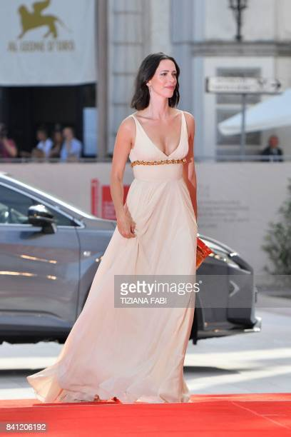 Actress and member of the jury Rebecca Hall arrives for the premiere of the movie 'First Reformed' presented in competition at the 74th Venice Film...