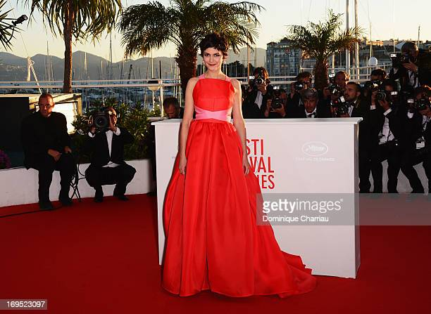 Actress and mistress of ceremonies at the Cannes Film Festival Audrey Tautou attends photocall for award winners during the 66th Annual Cannes Film...