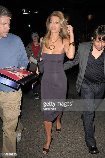 Actress and model Amber Smith is seen May 29 2008 in West Hollywood California