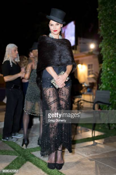 Actress and Model Ana Alexander attends Lisa Haisha's Moulin Rouge Birthday Celebration on May 12 2018 in Sherman Oaks California
