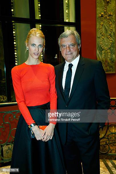Actress and Model Aymeline Valade and Sidney Toledano attend the Grand Bal de Deauville For Care France Association in Casino Barriere de Deauville...