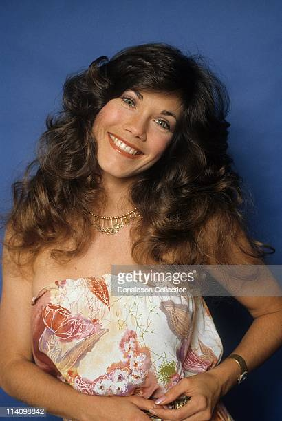 Actress and Model Barbi Benton poses for a portrait in c1985 in Los Angeles California