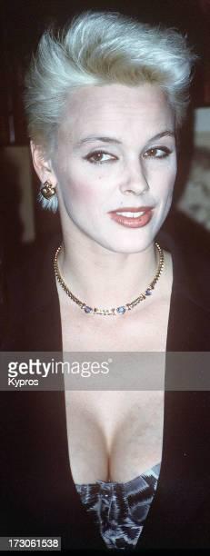 Actress and model Brigitte Nielsen circa 1990