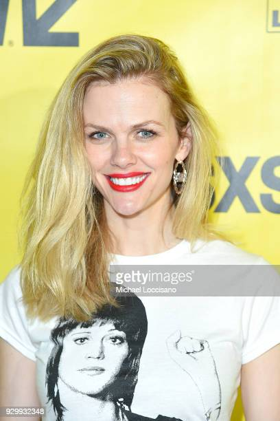 Actress and model Brooklyn Decker attends the Support The Girls premiere during the 2018 SXSW Conference and Festivals at the ZACH Theatre on March 9...