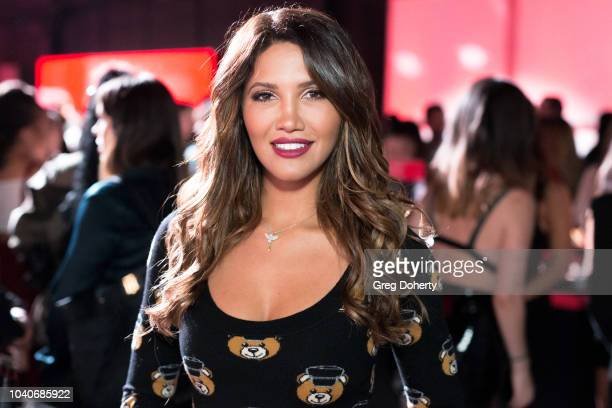 Actress and Model CJ Franco attends the Shiseido Makeup Launch Party at Quixote Studios on September 25 2018 in Los Angeles California